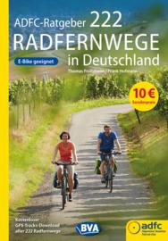Fietsgids 222 Radfernwege in Deutschland | ADFC - BVA | ISBN 9783870739805