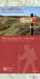 Wandelkaart Algarviana - Hiking the Via Algarviana | MapSite Verlag | 1:50.000 | ISBN 9783981721638