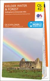 Wandelkaart Kielder Water & Forest |  Explorer Maps OL 42 | Ordnance Survey | 1:25.000 |  ISBN 9780319242810