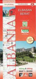 Wandelkaart Elbasan, Berat | Huber Verlag 06 | 1:50.000 | ISBN 9783943752120