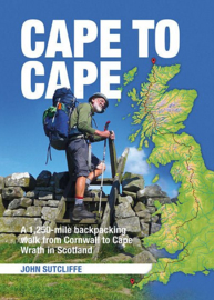 Cape to Cape A 1,250-mile backpacking walk from Cornwall to Cape Wrath in Scotland | Vertebrate | ISBN 9781909461550