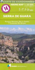 Wandelkaart Sierra de Guara | Rando Editions 14 | ISBN 9782344041222