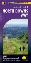 Wandelkaart The North Downs Way | Harvey | 1:40.000 | ISBN 9781851375295