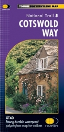 Wandelkaart The Cotswold way | Harvey | 1:40.000 | ISBN 9781851374182