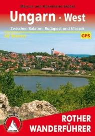 Wandelgids Ungarn West | Rother Verlag | Wandelen in West Hongarije | ISBN 9783763340705