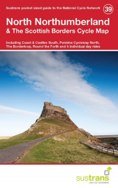 Fietskaart North Northumberland & The Scottish Borders | Cycle map 39 - Sustrans | 1:110.000 | ISBN 9781910845080