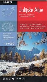 Wandelkaart Julische Alpen - Triglav National Park hiking map | Sidarta | 1:50.000 | ISBN 3830008646309