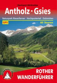 Wandelgids Rother Antholz - Gsies : Naturpark Rieserferner, Hochpustertal, Dolomiten |  Rother Verlag | ISBN 9783763343256