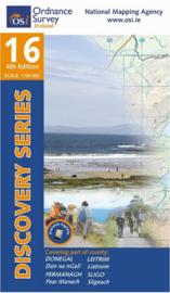 Wandelkaart Ordnance Survey / Discovery series | Donegal Sligo / Leitrim / Fermanagh 16 | ISBN 9781908852922