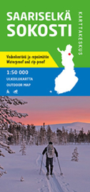 Wandelkaart Saariselka Sokosti  | Karttakeskus | 1:50 000 | ISBN 9789522665836