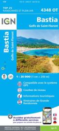 Wandelkaart Bastia, St-Florent, Murato | 1:25.000 | Corsica -  IGN 4348OT - IGN 4348 OT  | ISBN 9782758514282