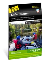 Wandelkaart Bärenrunde - Karhunkierros   Calazo   1:25.000   ISBN 9789186773489