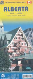 Wegenkaart Alberta | 1:1 miljoen | ITMB | ISBN 9781553415305