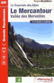 Wandelgids Traversée du Mercantour : GR 5 -52 -52A | FFRP | ISBN 9782751410727