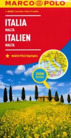 Wegenkaart Italië | Marco Polo | 1:800.000 | ISBN 9783829738330