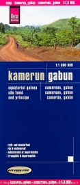 Wegenkaart Kameroen, Gabon | Reise Know How |  1:1,3 miljoen | ISBN 9783831772254
