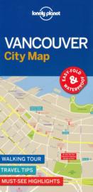 Stadskaart Vancouver | Lonely Planet | 1:11.000 | ISBN 9781786576606