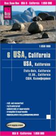 Wegenkaart USA 6 Californië | Reise Know How | 1:850.000 | ISBN 9783831772957