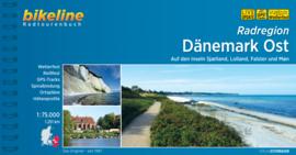Fietsgids Denemarken - het Oosten - Dänemark Ost | Bikeline | ISBN  9783850008198