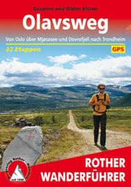 Wandelgids Olavsweg  | Rother verlag | ISBN 9783763345540