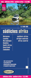 Wegenkaart Zuidelijke Afrika | Reise Know How | 1: 2,5 miljoen | ISBN 9783831772377