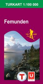 Wandelkaart Femunden 2559 | Nordeca | 1:100.000 | ISBN 7046660025598