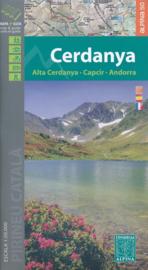 Wandelkaart Cerdanya | Editorial Alpina | Oostelijke Pyreneeën | 1:50.000 | ISBN 9788480907002