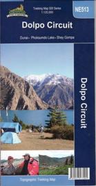 wandelkaart  Dolpo Circuit NE513 | 1:125.000 | Nepa Maps/Himalayan MapHouse | ISBN 9789937577205