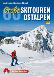 Skitourgids Große Skitouren Ostalpen 60 Touren zwischen Rätikon und Dachstein | Rother Verlag | ISBN 9783763331277