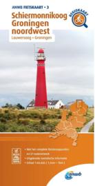 Fietskaart Schiermonnikoog - Groningen noordwest | ANWB 3 | 1:66.666 |  ISBN 9789018047047