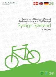 Fietskaart Zuid-Sjaelland | Scanmaps nr. 2 | 1:100.000 | ISBN 9788779671171