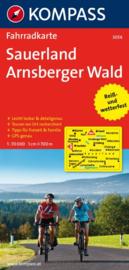 Fietskaart Sauerland - Arnsberger Wald 3054 | 1:70.000 | ISBN 9783850262750