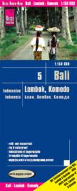 Wegenkaart Bali, Lombok & Komodo | Reise Know how | 1:150.000 | ISBN 9783831773695
