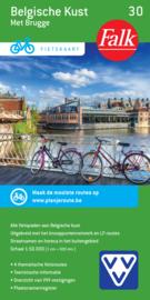 Fietskaart Belgische Kust 30 | Falk | ISBN 9789028727892