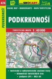 Wandelkaart Tsjechië -  Podkrkonoší - Riesengebirgs-Vorland | Shocart 426 | ISBN 9788072247042