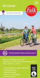 Wandelkaart - Fietskaart De IJssel | Falk - 01 Recreatiekaart | 1:50.000 | ISBN 9789028726307
