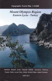 Wandelkaart Lycia Oostelijk deel - Omgeving Kumluca | 1:54.000 | West Col | ISBN 9781906449209