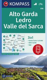 Wandelkaart Alto Garda - Val di Ledro | Kompass 096 | 1:35.000 | ISBN 9783990446263