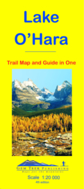 Wandelkaart Lake O'Hara | GEM Trek nr. 16 | 1:20.000 | ISBN 9781895526820