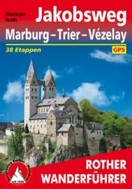 Wandelgids Jakobsweg Marburg - Trier - Vézelay | Rother Verlag | ISBN 9783763344741