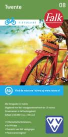 Fietskaart Twente nr. 8 | Falk | Fietskaart 1:50.000 | ISBN 9789028701038