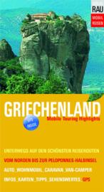 Campergids Griechenland | Werner Rau Verlag | Mob0il Touren Griekenland | ISBN 9783926145802
