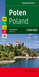 Wegenkaart Polen | Freytag & Berndt | 1:500.000 | ISBN 9783707901801