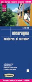 Wegenkaart Honduras, El Salvador, Nicaragua | Reise Know How | 1:650.000 | ISBN 9783831771752