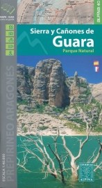 Wandelkaart Sierra De Canyones de Guara | Editorial Alpina | Ten N van Huesca | 1:40.000 | ISBN 9788480906609