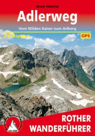 Wandelgids Adlerweg | Rother Verlag | ISBN 9783763344901