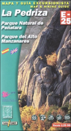 Wandelkaart Pedriza La   Editorial Alpina 1:25.000   ISBN 9788480901604