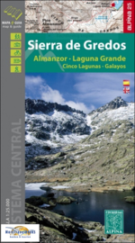 Wandelkaart Sierra De Gredos | Editorial Alpina | 1:25.000 | ISBN 9788480907316