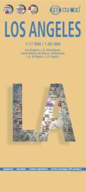 Stadskaart Los Angeles   Borch   1:60.000   ISBN 9783866093447