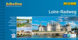 Fietsgids Loire radweg | Bikeline | van Orleans naar de Atlantische Oceaan | ISBN 9783850006309